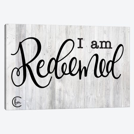 I am Redeemed Canvas Print #FMC29} by Fearfully Made Creations Canvas Art Print