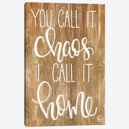 Chaotic Home Canvas Print #FMC4} by Fearfully Made Creations Canvas Art