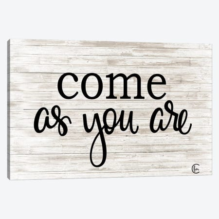 Come as You Are  Canvas Print #FMC54} by Fearfully Made Creations Canvas Print