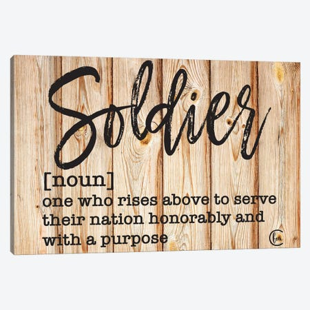 Soldier Canvas Print #FMC61} by Fearfully Made Creations Canvas Print