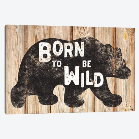 Born to Be Wild Canvas Print #FMC63} by Fearfully Made Creations Canvas Art Print