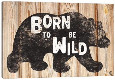 Born to Be Wild Canvas Art Print