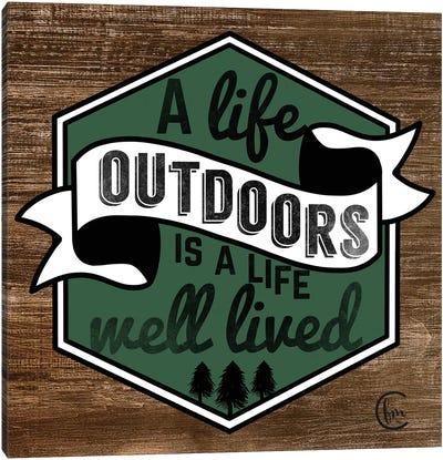 Outdoor Life Canvas Art Print