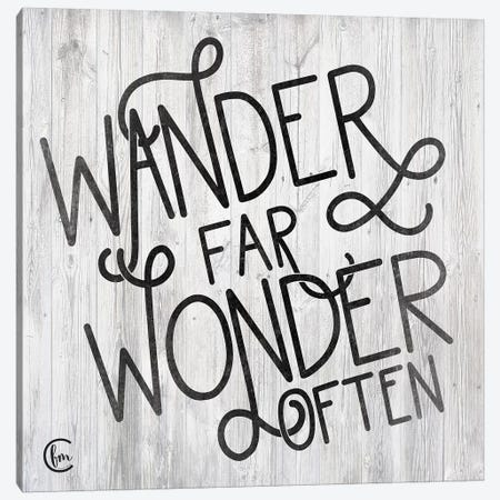 Wander Canvas Print #FMC66} by Fearfully Made Creations Canvas Artwork