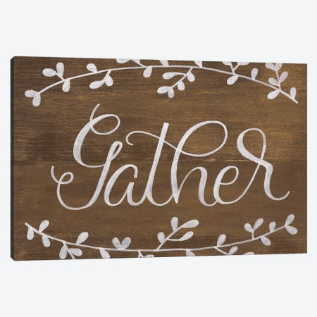 Gather Leaf Canvas Print #FMC69} by Fearfully Made Creations Art Print