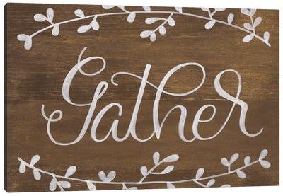 Gather Leaf Canvas Art Print