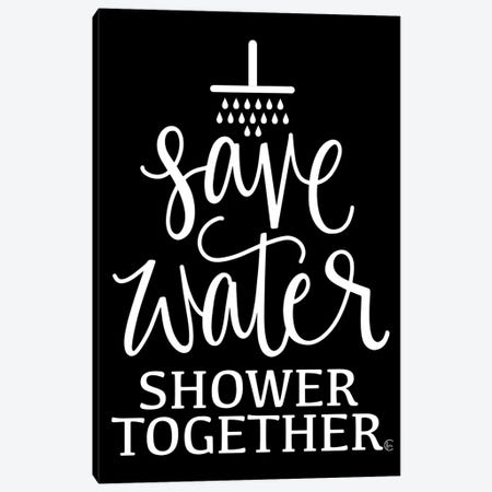Shower Together Canvas Print #FMC74} by Fearfully Made Creations Canvas Print