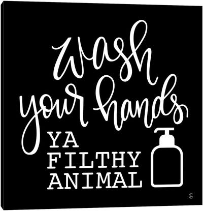 Wash Your Hands Canvas Art Print
