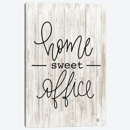 Home Sweet Office Canvas Print #FMC82} by Fearfully Made Creations Art Print