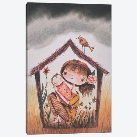 Safe Haven Canvas Print #FMM10} by Femke Muntz Canvas Artwork