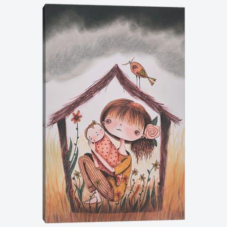 Safe Haven Canvas Print #FMM10} by Femke Muntz Canvas Artwork