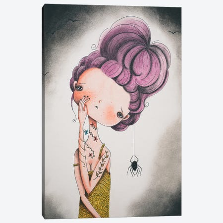 Scarlett Canvas Print #FMM11} by Femke Muntz Canvas Art