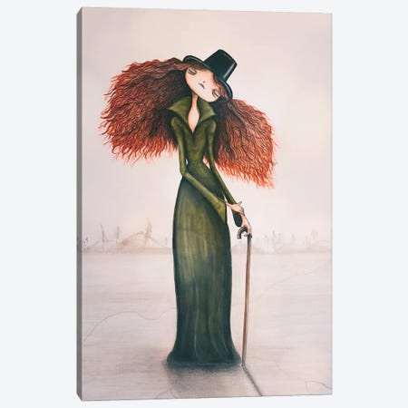 The Ice Queen Canvas Print #FMM13} by Femke Muntz Canvas Art