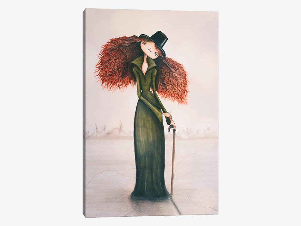 The Ice Queen by Femke Muntz 1-piece Canvas Artwork