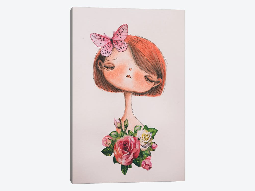 The Butterfly by Femke Muntz 1-piece Canvas Print