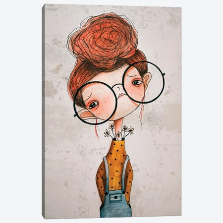 Ruthie Canvas Print #FMM27} by Femke Muntz Canvas Wall Art