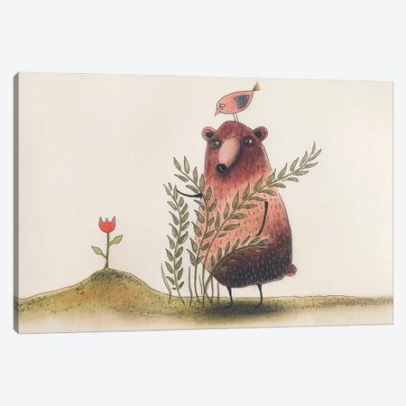 The Tulip Canvas Print #FMM30} by Femke Muntz Canvas Art