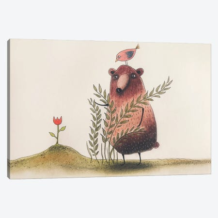 The Tulip Canvas Print #FMM30} by Femke Muntz Canvas Art
