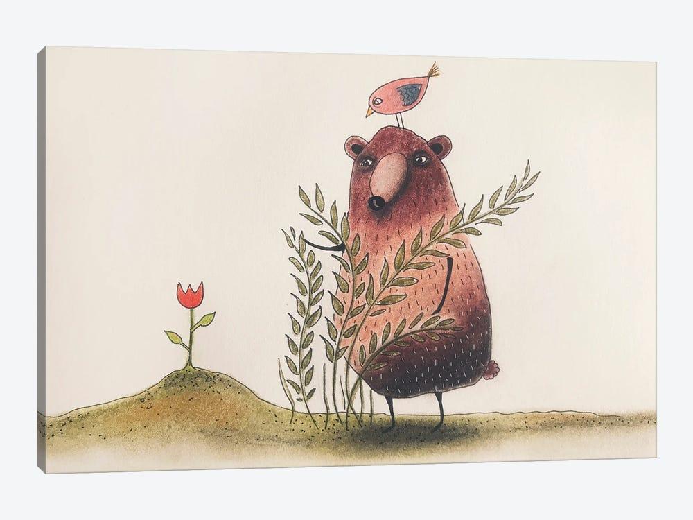 The Tulip by Femke Muntz 1-piece Canvas Print