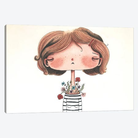 Daisy Mae Canvas Print #FMM31} by Femke Muntz Canvas Art