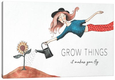 Grow Things Canvas Art Print