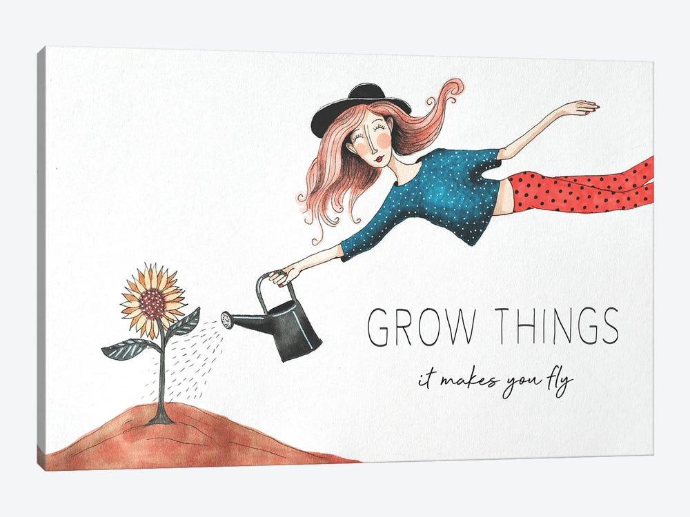 Grow Things by Femke Muntz 1-piece Canvas Print