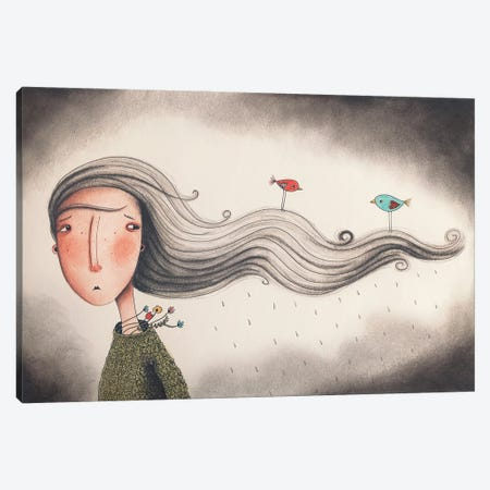 Mabel Canvas Print #FMM35} by Femke Muntz Canvas Print