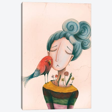 The Comfort Canvas Print #FMM37} by Femke Muntz Canvas Print