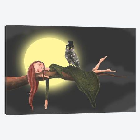 The Nightwatch Canvas Print #FMM39} by Femke Muntz Canvas Artwork