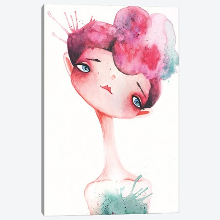 Mirabel Canvas Print #FMM40} by Femke Muntz Art Print