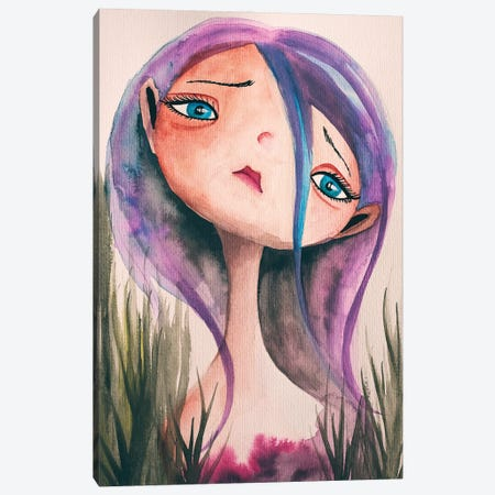 Sorrow Canvas Print #FMM43} by Femke Muntz Canvas Print