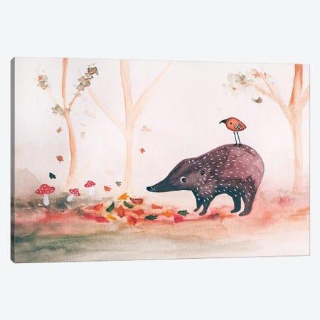Little Fall Scene Canvas Print #FMM46} by Femke Muntz Canvas Art