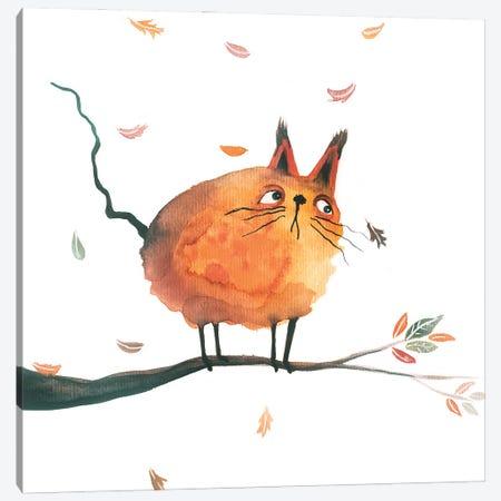 Fall Party Canvas Print #FMM49} by Femke Muntz Canvas Print