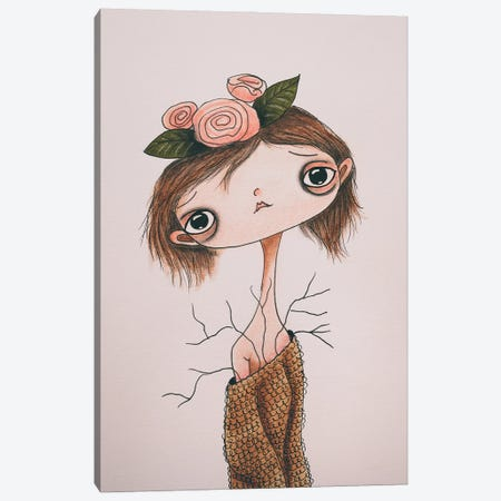 Edie Canvas Print #FMM4} by Femke Muntz Canvas Artwork