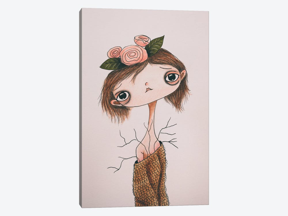 Edie by Femke Muntz 1-piece Canvas Art Print