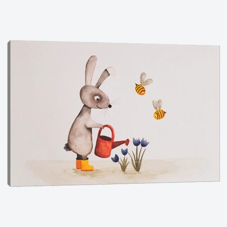 Springtime Canvas Print #FMM56} by Femke Muntz Canvas Print