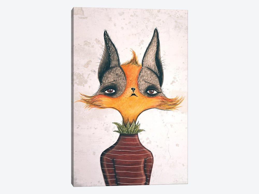 Mrs. Fox by Femke Muntz 1-piece Art Print