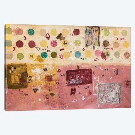 Monday Canvas Print #FMN14} by Jenny Furman Canvas Wall Art