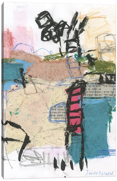 Untitled CII Canvas Art Print