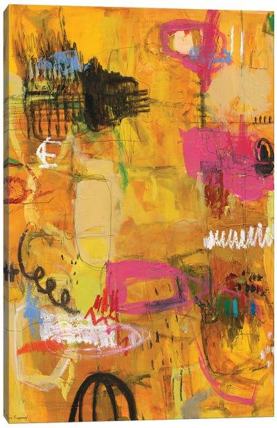 The Sun Trail Canvas Art Print