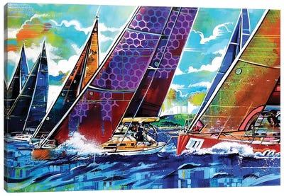 Color Regatta Canvas Art Print