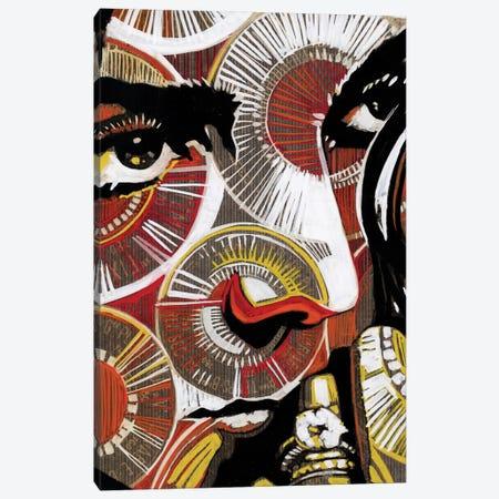 Electric Blue II Canvas Print #FMO11} by Fernan Mora Canvas Wall Art
