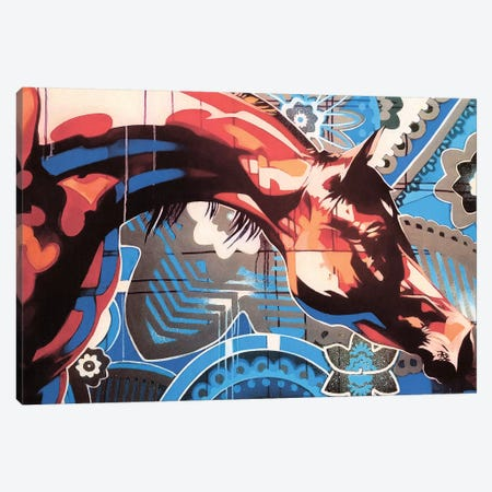Obedience Canvas Print #FMO23} by Fernan Mora Art Print