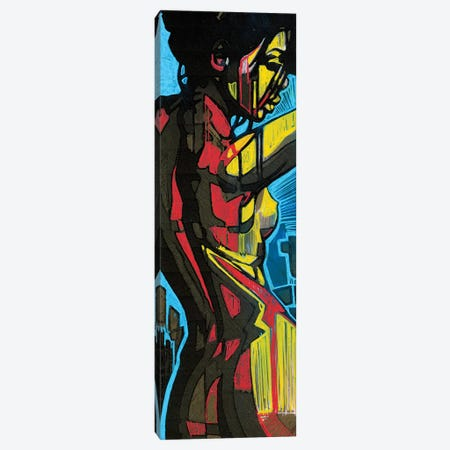 Rearward Canvas Print #FMO25} by Fernan Mora Canvas Artwork