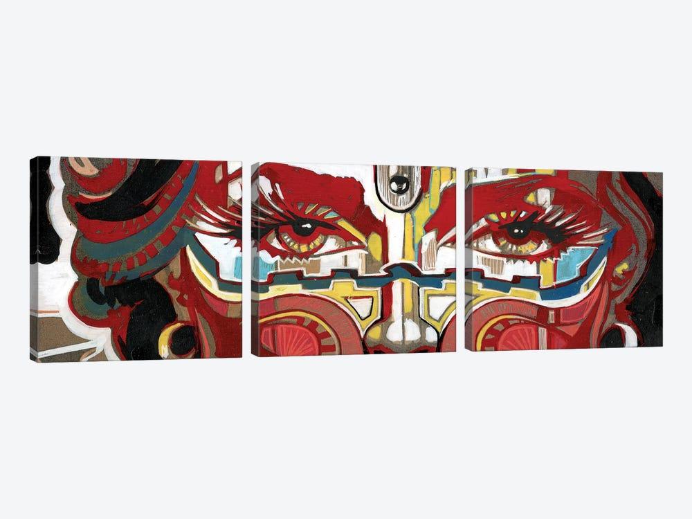 Scared by Fernan Mora 3-piece Art Print