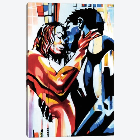 What Lovers Do Canvas Print #FMO31} by Fernan Mora Canvas Wall Art