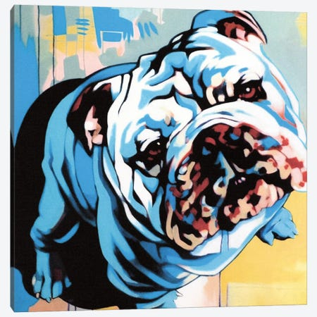 Obedient Canvas Print #FMO33} by Fernan Mora Canvas Artwork