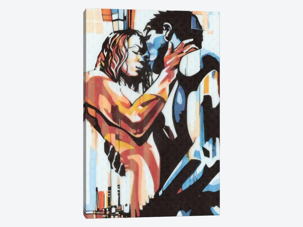 Colorful Embrace I by Fernan Mora 1-piece Canvas Artwork