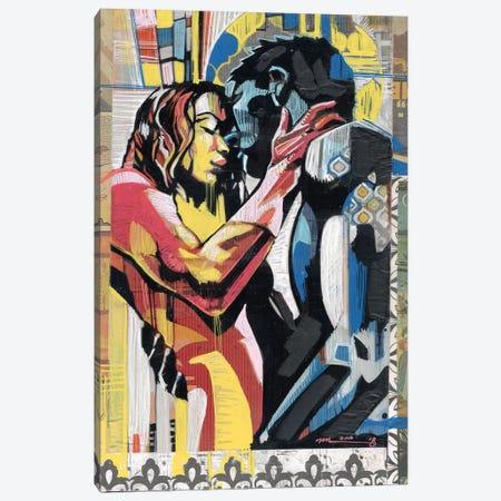 Colorful Embrace II Canvas Print #FMO37} by Fernan Mora Canvas Print
