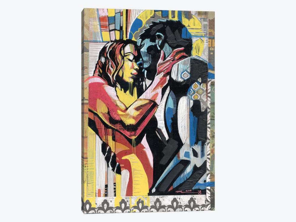 Colorful Embrace II by Fernan Mora 1-piece Art Print